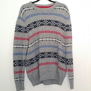 American Eagle Outfitters - Gray Knit Sweater XXL